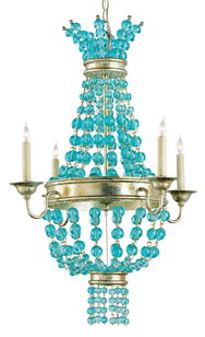 Turquoise glass chandelier chandelier online turquoise chandelier kaboodle aloadofball Choice Image